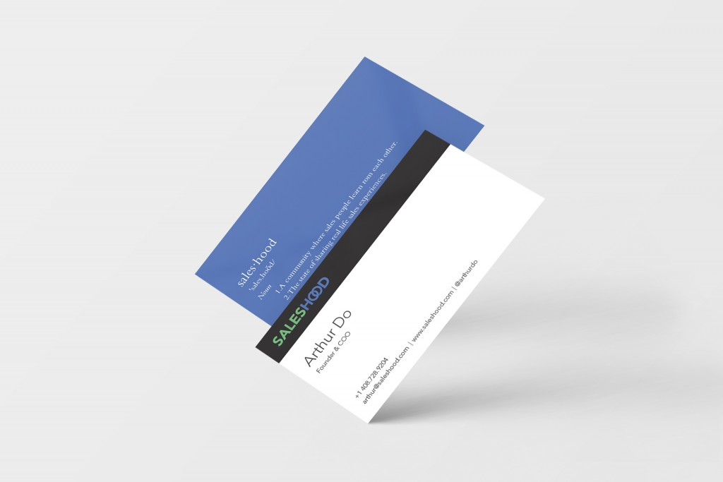 Business Card Mockup 03 (Free Version)