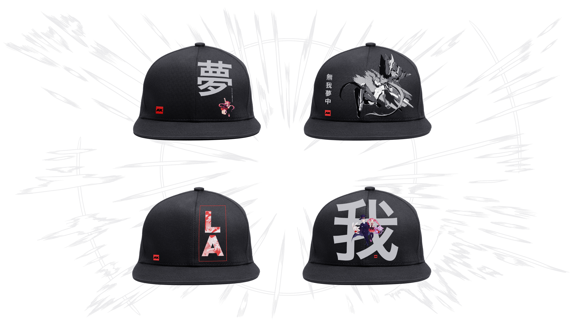 Anime Expo Design For Merchandise Apparel And Collectibles